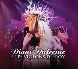 Disque Diane Dufresne et les Violons du Roy